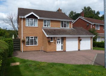 Thumbnail 4 bed detached house for sale in Catherine Close, Orton Longueville