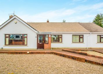Thumbnail 3 bed detached bungalow for sale in Church Close, Peterstone Wentlooge, Cardiff