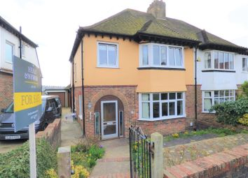 Thumbnail 3 bed semi-detached house for sale in Friar Crescent, Brighton
