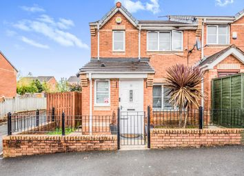 Thumbnail 3 bed semi-detached house for sale in Foxham Drive, Cheetwood, Salford, Greater Manchester