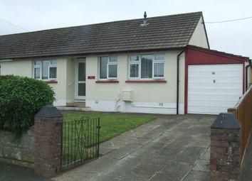 Thumbnail 2 bed semi-detached bungalow to rent in Taw View, Fremington, Barnstaple