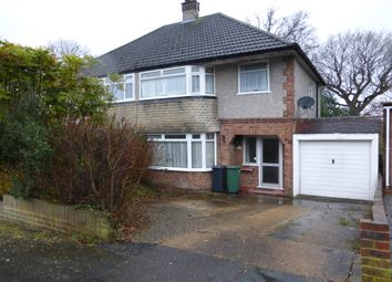 Thumbnail 3 bed property to rent in Oakwood Close, Redhill