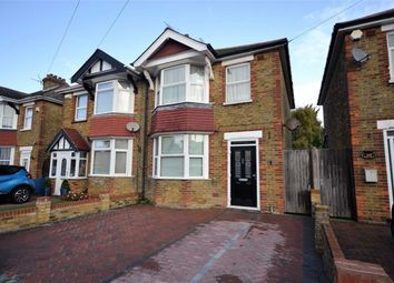 Thumbnail 3 bedroom semi-detached house for sale in Warten Road, Ramsgate, Kent