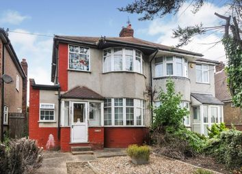 Thumbnail 3 bed semi-detached house for sale in East Rochester Way, Sidcup, .
