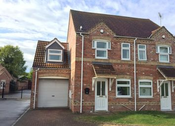 Thumbnail 3 bed semi-detached house to rent in Affords Way, North Hykeham, Lincoln