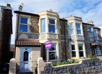 Thumbnail 3 bedroom terraced house for sale in Churchill Road, Weston-Super-Mare