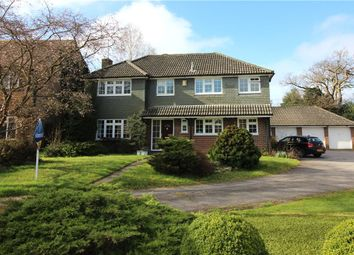 Thumbnail 5 bedroom detached house for sale in Hilfield, Yateley, Hampshire