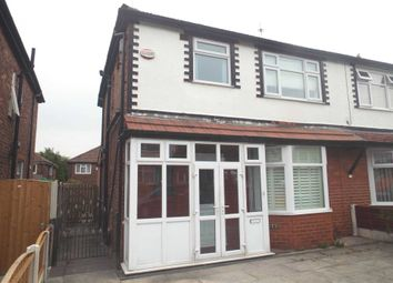 Thumbnail 3 bed semi-detached house to rent in Cedric Road, Manchester