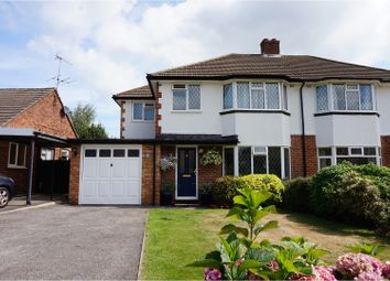Thumbnail 3 bed semi-detached house for sale in Millan Close, New Haw