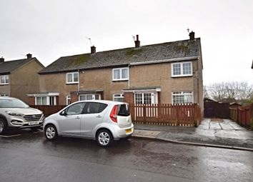 Thumbnail 2 bed flat for sale in Back Rogerton Crescent, Auchinleck, Cumnock