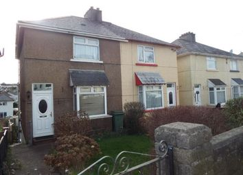 Thumbnail 2 bed semi-detached house for sale in Pomphlett, Plymstock, Plymouth