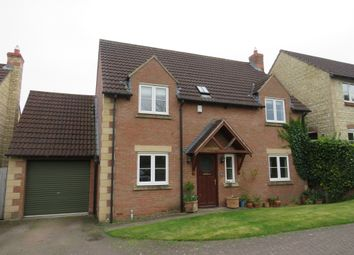 Thumbnail 3 bed detached house for sale in Merrick Close, Great Gonerby, Grantham