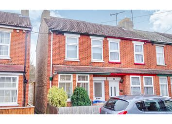 Thumbnail 2 bed end terrace house for sale in Wallace Road, Ipswich