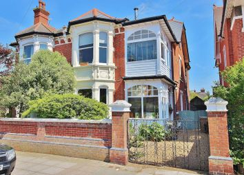 Thumbnail 3 bed maisonette for sale in Brading Avenue, Southsea