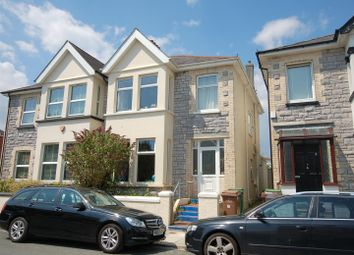 Thumbnail 4 bed semi-detached house for sale in Beaconfield Road, Plymouth