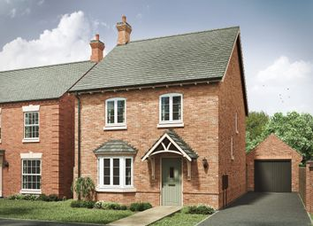"Thumbnail 4 bed detached house for sale in ""The Lincoln 4th Edition"" at Ullesthorpe Road, Gilmorton, Lutterworth"