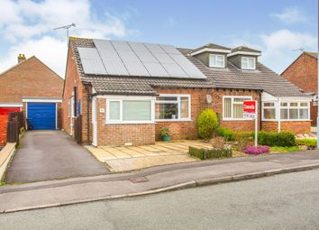 Thumbnail 2 bedroom semi-detached bungalow for sale in Wessex Way, Gillingham