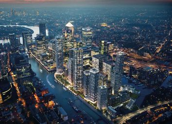 Thumbnail 1 bedroom flat for sale in 10 Park Drive, Harbour Quay, London