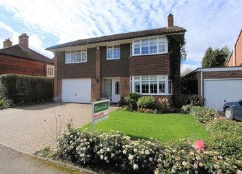 Thumbnail 4 bed detached house for sale in Pyrford Road, Pyrford, Woking