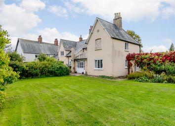 Thumbnail 5 bed link-detached house for sale in Tilbrook, Huntingdon, Cambridgeshire
