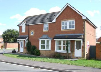 Thumbnail 2 bed semi-detached house to rent in Plym Drive, Didcot