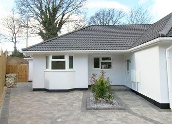 Thumbnail 2 bed semi-detached bungalow for sale in Hamble Road, Poole, Dorset