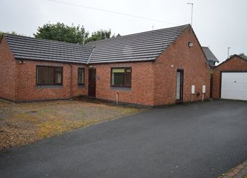Thumbnail 3 bed detached bungalow for sale in Salisbury Road, Market Drayton