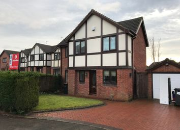 Thumbnail 3 bed detached house to rent in Thornham Close, Clayton, Newcastle Under Lyme