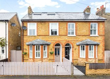 Thumbnail 4 bed semi-detached house for sale in Strode Street, Egham, Surrey