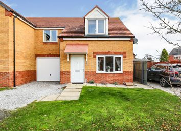 Thumbnail 3 bed semi-detached house for sale in Cemetery Road, Langold, Worksop, Nottinghamshire