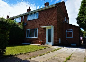 Thumbnail 2 bed semi-detached house for sale in Coronation Road, Doncaster