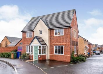 Thumbnail 3 bed detached house for sale in Matthews Drive, Hednesford, Cannock, Staffordshire