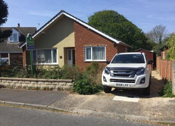 Thumbnail 2 bed detached bungalow for sale in The Close, Sturton By Stow