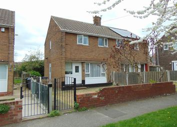 Thumbnail 2 bed semi-detached house to rent in Lytham Avenue, Barnsley
