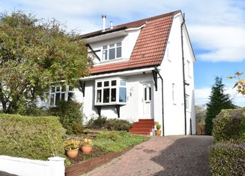 Thumbnail 2 bed semi-detached house for sale in Hawthorn Avenue, Bearsden, East Dunbartonshire