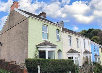 Thumbnail End terrace house for sale in Bryn Terrace, Mumbles, Swansea