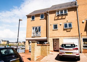 Thumbnail 4 bedroom town house for sale in Pierhead View, Penarth