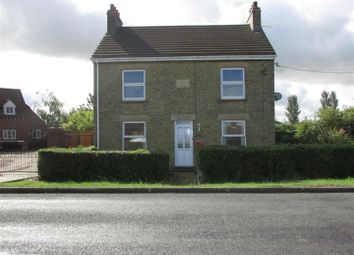 Thumbnail 3 bedroom detached house to rent in Doddington Road, Wimblington, March