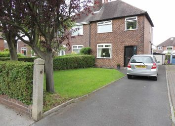 Thumbnail 3 bed semi-detached house for sale in Garthland Road, Hazel Grove, Stockport