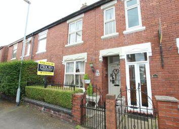 Thumbnail 2 bed terraced house for sale in Charles Street, Biddulph, Stoke-On-Trent