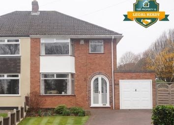 Thumbnail 3 bedroom semi-detached house for sale in Clarence Road, Four Oaks, Sutton Coldfield