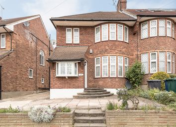 Thumbnail 4 bed semi-detached house to rent in Michleham Down, London