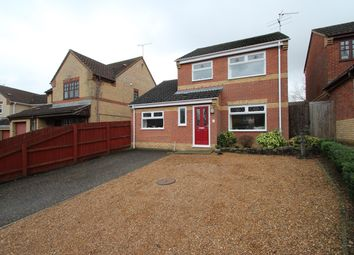 Thumbnail 3 bed detached house for sale in Wimpole Close, Rushmere St Andrew, Ipswich
