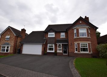 Thumbnail 4 bed detached house for sale in Walton Croft, Solihull