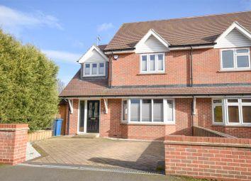 Thumbnail 4 bed semi-detached house for sale in Bentinck Avenue, Tollerton, Nottingham