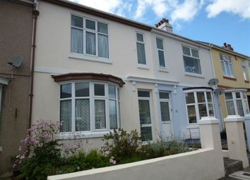 Thumbnail 4 bed terraced house to rent in Pennycross Park Road, Plymouth