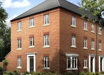 "Thumbnail 4 bed end terrace house for sale in ""Drayton"" at Mount Street, Barrowby Road, Grantham"