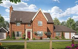 Thumbnail 5 bedroom detached house for sale in The Street, Gazeley, Newmarket
