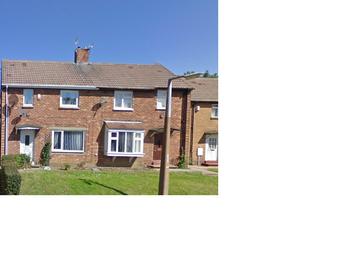 Thumbnail 2 bed semi-detached house for sale in Basingstoke Road, Peterlee