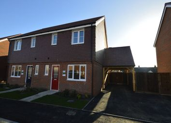 Thumbnail 3 bed semi-detached house to rent in Hunters Walk, Sholden, Deal